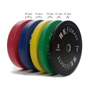 HE fitness bumper plates