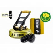 GIBBON SLACKLINES CLASSIC LINE X13 TREE PRO SET + ratchet padding